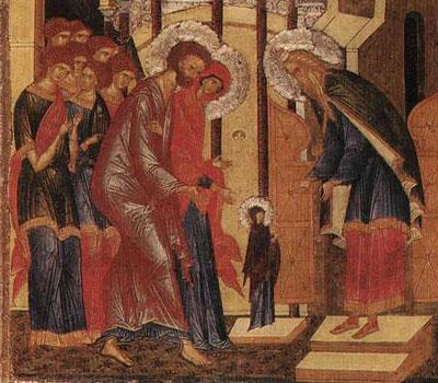 "<i>""Noi sa o cinstim pe Maica Domnului!""</i> INTRAREA IN BISERICA A MAICII DOMNULUI: predici, indemnuri si talcuiri iconografice"