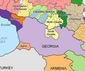 """El """"robo"""" de territorios enfrenta a los pueblos del Cáucaso"""