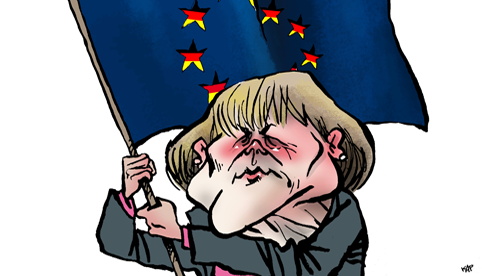 """GERMANIA NAZISTA RENASTE? """"Der Spiegel"""" sterge pe jos cu Grecia, """"CERSETORUL EUROPEI"""", iar un europarlamentar crestin-democrat cu gandire fascistoida cere AMPRENTAREA ROMÂNILOR"""