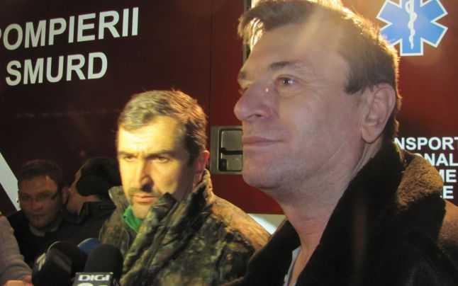 Padurarul Nicolae Onetiu si Corneliu Olaru