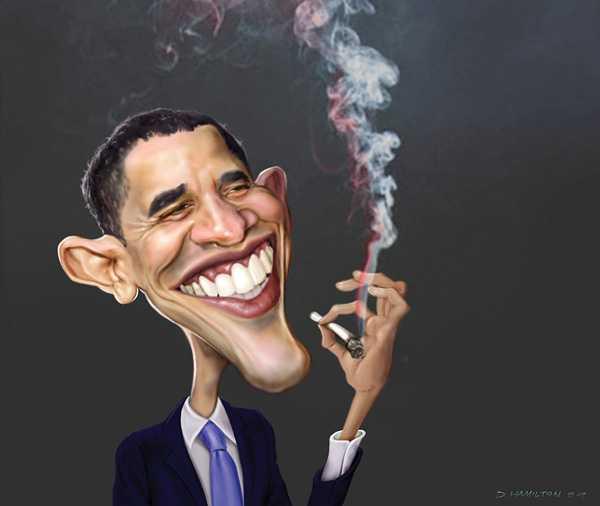 Obama incurajeaza CONSUMUL de MARIJUANA