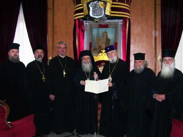 Patriarhia Romana si Patriarhia Ierusalimului au restabilit COMUNIUNEA DEPLINA. Patriarhul Teofil – INVITAT IN ROMANIA