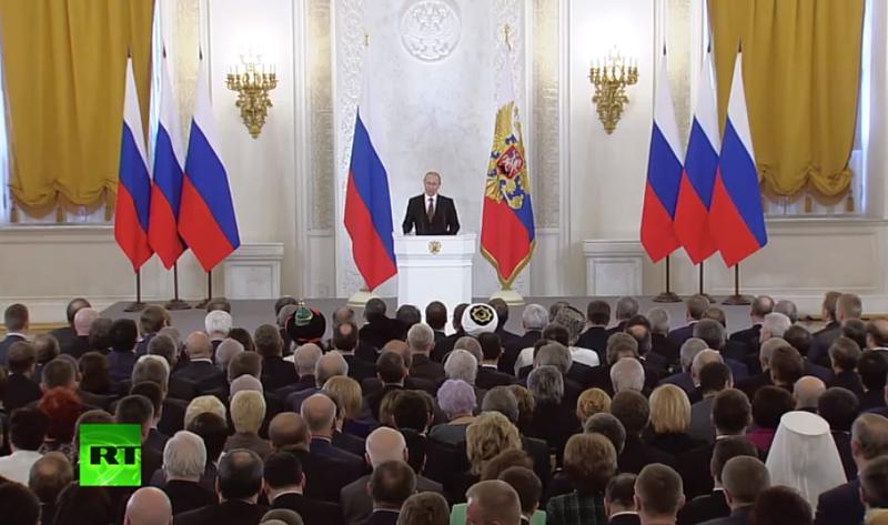 TRANSNISTRIA CERE ALIPIREA LA RUSIA/ PUTIN a proclamat oficial ANEXAREA CRIMEEI la Rusia. <i>DISCURSUL-REPLICA fata de Occident al presedintelui rus (VIDEO)</i>/ NISTRU – NOUA LINIE DE RAZBOI