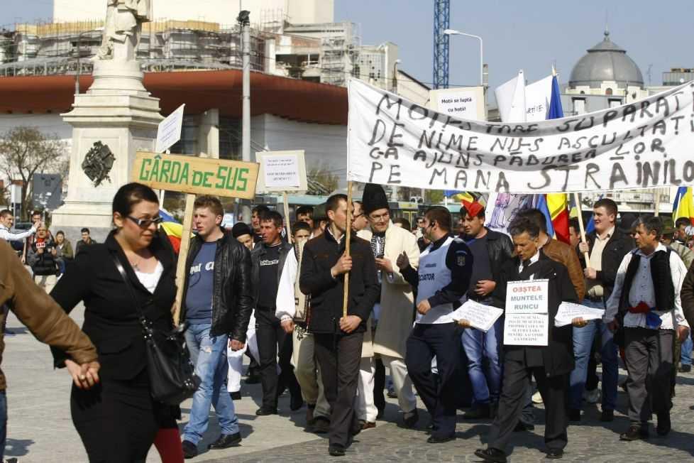 protest salvarea padurilor
