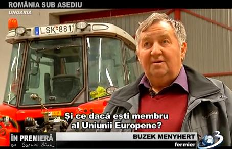 Buzek Menyhert, fermier