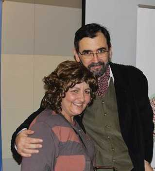 Mioara Grigore cu familia si Iulian Capsali la Fundatia Anisia