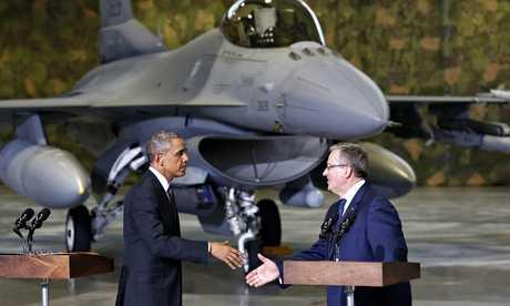 UCRAINA INCHIDE GRANITELE ESTICE CU RUSIA/ Obama promite protectie POLONIEI, TARILOR BATICE SI ROMANIEI/ Putin raspunde cu ironii si intepaturi <i>(VIDEO)</i>