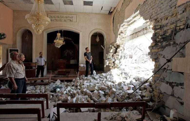 damaged-church-kirkuk