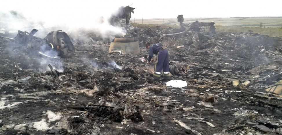 Avionul Malaysian Airlines MH17, care a fost doborât în estul Ucrainei şi toţi cei 298 de oameni de la bord au murit
