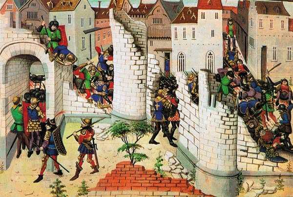 Eugene Delacroix: alungarea ortodocsilor din Constantinopol (A IV-a Cruciada)