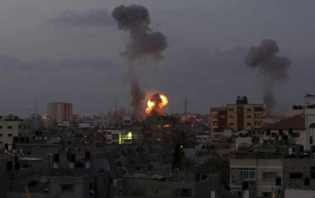 ISRAEL INVADEAZA TERITORIAL FÂȘIA GAZA