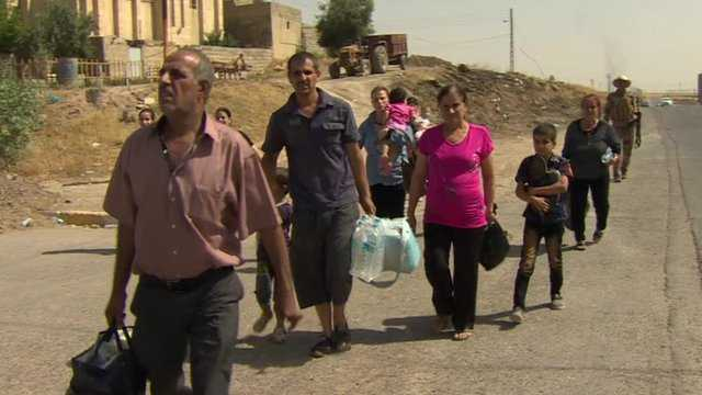 Christians-are-reported-to-be-fleeing-after-Islamic-militants-seized-Qaraqosh