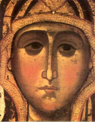 Theotokos of Yaroslavl (Detail)