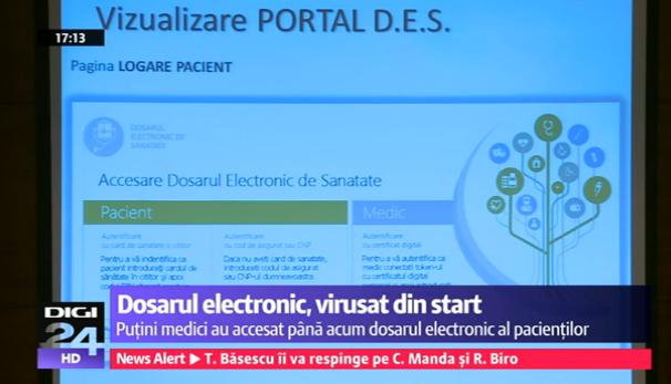 PASUL URMATOR: DOSARUL ELECTRONIC DE SANATATE AR DEVENI OBLIGATORIU (Video)