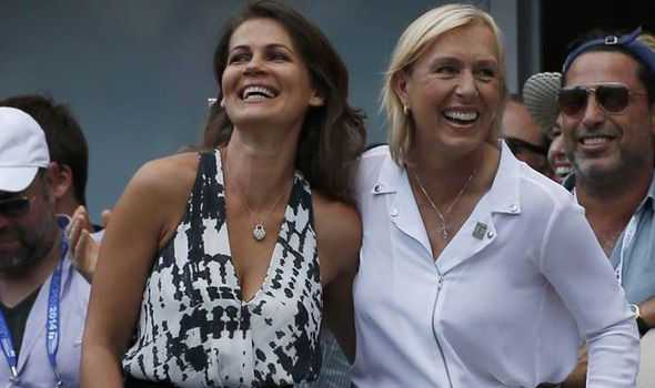 Martina-Navratilova-Julia-Lemigova-US-Open-marriage-lesbian-gay-news-Kei-Nishikori-ovak-Djokovic-tennis-507861