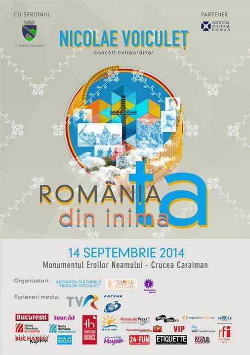 """UN ARTIST IN SLUJBA CRUCII SI A NEAMULUI ROMANESC: <b>Naistul NICOLAE VOICULEȚ</b> – concert-eveniment la CRUCEA CARAIMAN, de Inaltarea Sfintei Cruci, in cadrul unui """"PROIECT MISIONAR"""" IDENTITAR: <i>""""România din inima ta"""" (video)</i>"""