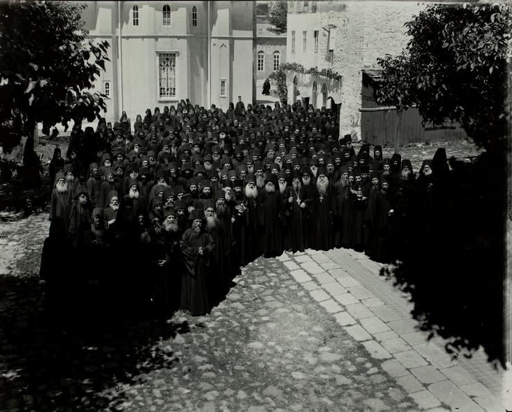 athos-monks