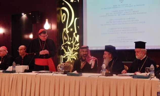 Inca o intalnire ORTODOX-CATOLICA s-a incheiat NECONCLUDENT. Din fericire… La AMMAN, delegatii ortodocsi si catolici nu s-au pus de acord asupra SINODALITATII si PRIMATULUI