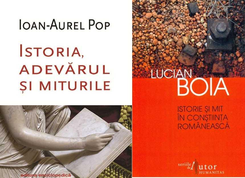 """DECONSTRUIREA DEMITIZARII SAU O REPLICA MARGINALIZATA. Istoricul Ioan-Aurel Pop despre lucrarile lui Lucian Boia: <b>""""<i>O ATARE ATITUDINE ESTE MENITA SA DISTRUGA COMPLET ROMANIA</i>""""</b>"""