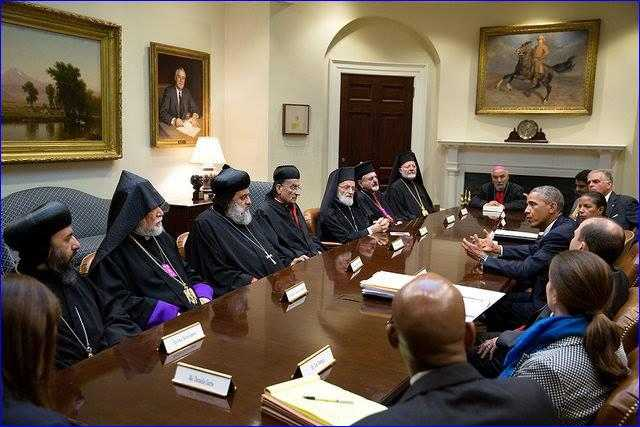 Obama ar fi recunoscut, la o intalnire cu liderii crestinilor din Orientul Mijlociu, ca ASSAD I-A PROTEJAT PE CRESTINI/ Biserica Rusiei INTRERUPE dialogul cu LUTERANII FINLANDEZI din cauza HOMOSEXUALITATII