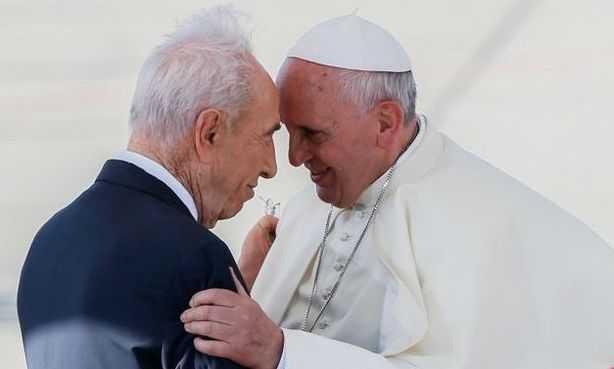 Fostul presedinte israelian Shimon Peres propune un ONU AL RELIGIILOR CONDUS DE PAPA FRANCISC
