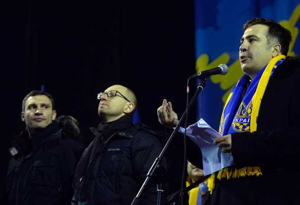 UKRAINE-EU-UNREST-POLITICS-DEMO-SAAKASHVILI