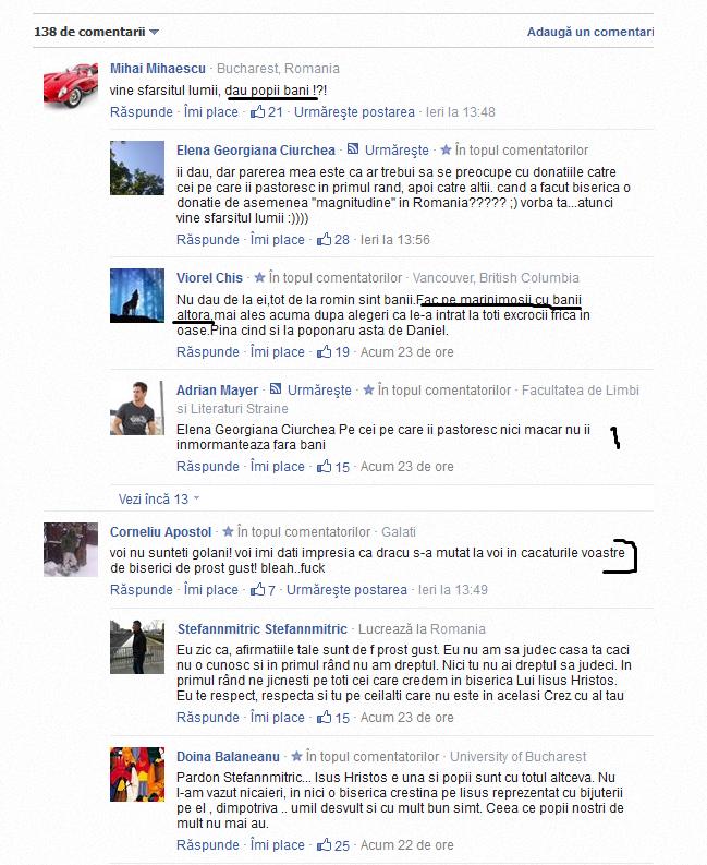 """PATRIARHIA doneaza 500.000 euro CRESTINILOR PRIGONITI din SIRIA si alte zone din ORIENTUL MIJLOCIU. Rezultatul? <b>Reactii anticrestine socante ale """"haterilor"""" pe retelele sociale si pe siteurile de stiri</b>"""