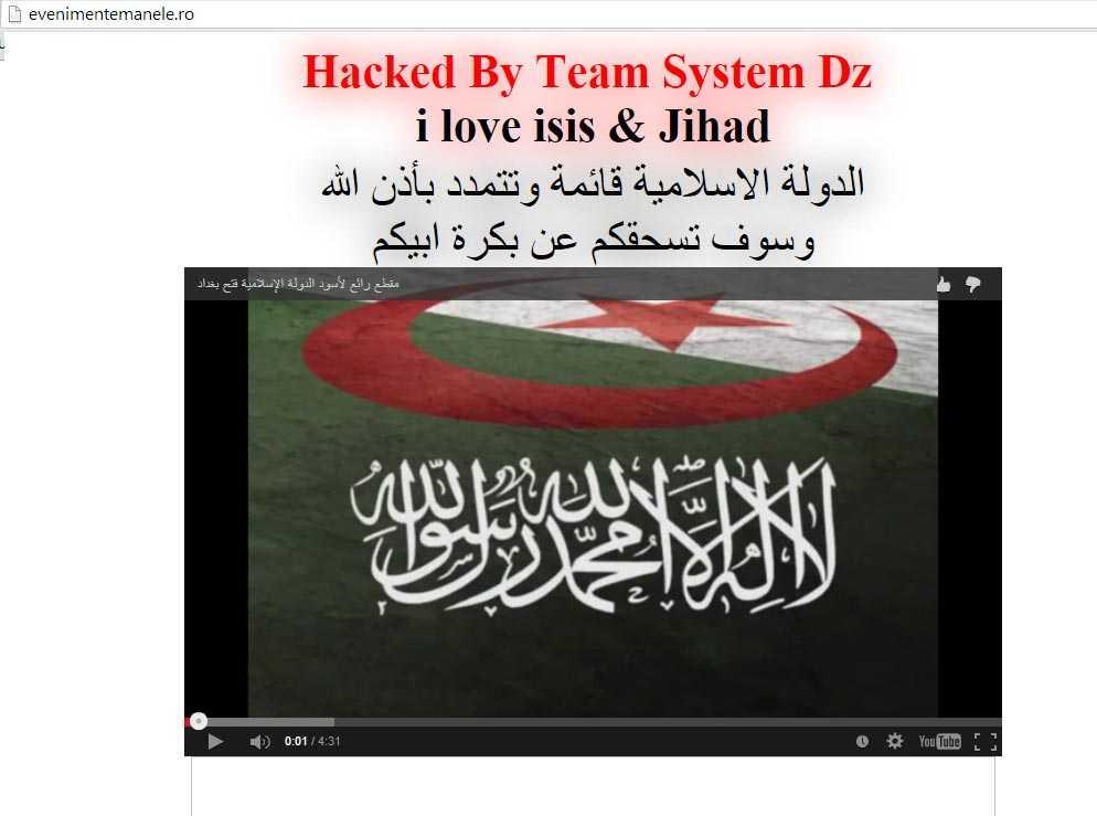 """Temerile SRI, confirmate! <i>""""Dusmanii ne poarta pica…""""</i>: Un site de MANELE atacat de jihadistii ISIS! Concluzia? AVEM NEVOIE URGENTA DE LEGILE BIG BROTHER!"""