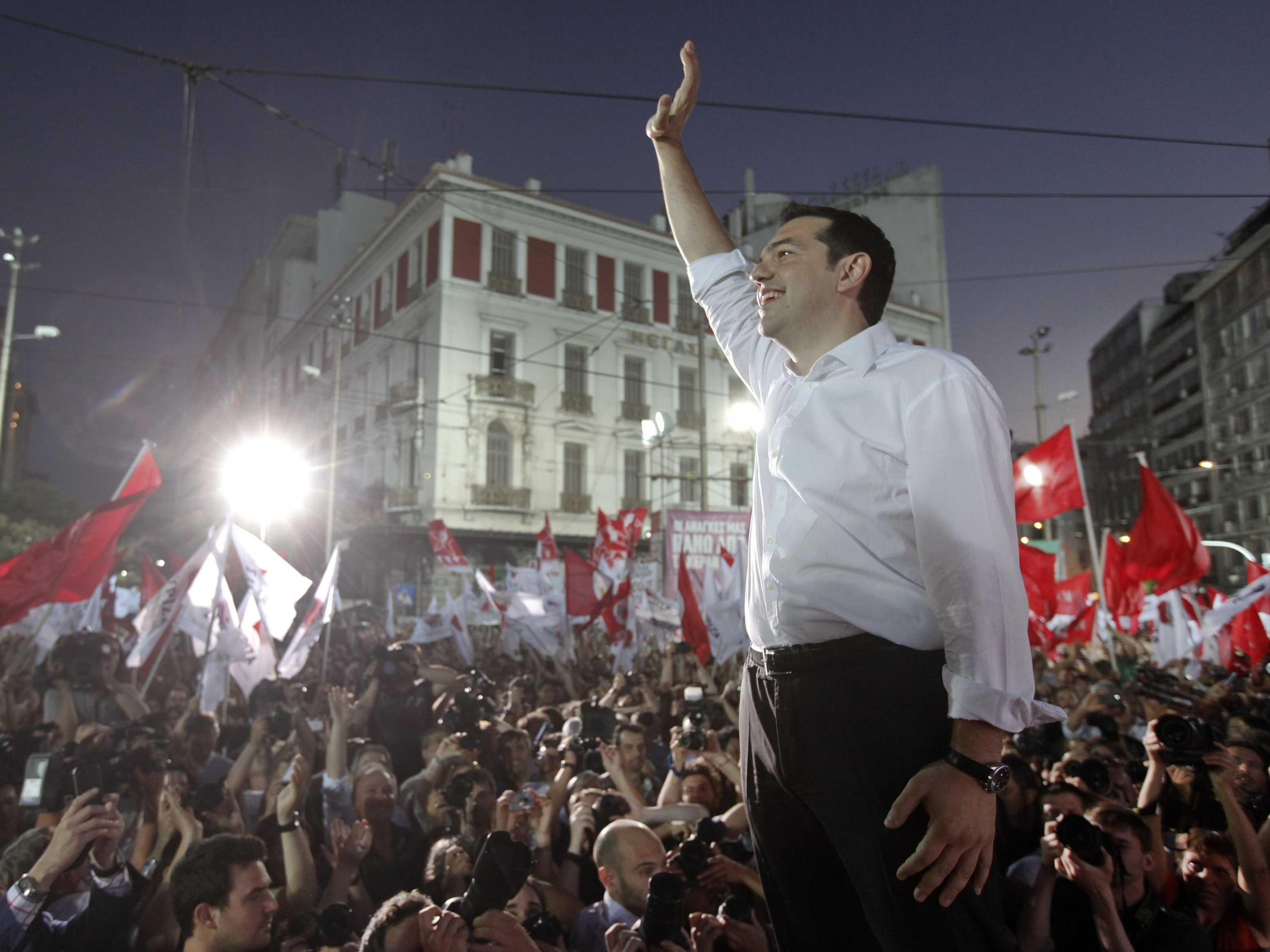 "GRECIA A VOTAT ANTI-AUSTERITATE SI ANTI-TROICA. Partidul Syriza, ""STANGA RADICALA"", castiga alegerile si se aliaza cu ""DREAPTA NATIONALISTA"" a Grecilor Independenti"