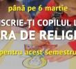 Noi marturii pentru ora de religie (VIDEO)/ DISCRIMINAREA MAJORITATII CRESTINE SI REDUCEREA EI LA TACERE PRIN STIGMATIZARE/ Campanie anti-BOR in Gandul/ PS SILUAN, EPISCOPUL ITALIEI: <i>&#8220;Nu ne ajunge pedeapsa comunismului?&#8221;</i>