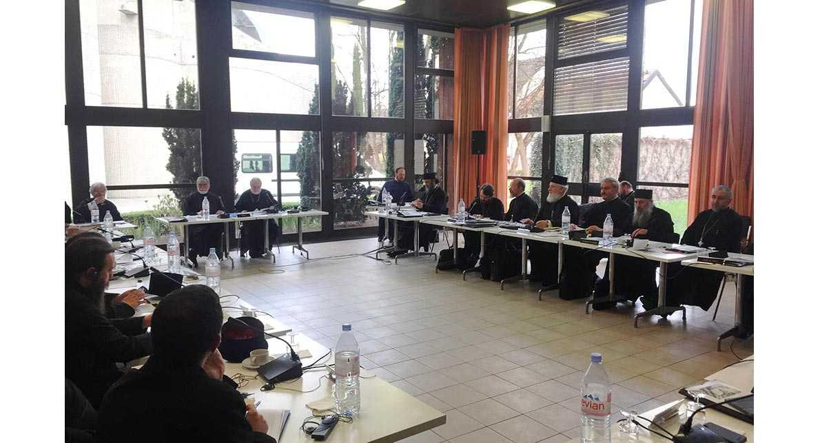 Comisia interortodoxa pentru SINODUL PANORTODOX de la Chambesy  neaga luarea de decizii contrare invataturii Bisericii. INTREBARE: DE CE NU SUNT PUBLICE TEXTELE DISCUTATE?