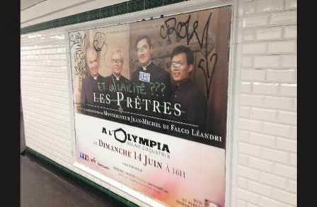 FRANTA. Interdictia celebrarii publice a CAII CRUCII sub pretextul terorismului/ Mentionarea scopului caritabil pentru CRESTINII DIN ORIENT al unui spectacol – INTERZISA in metroul parizian