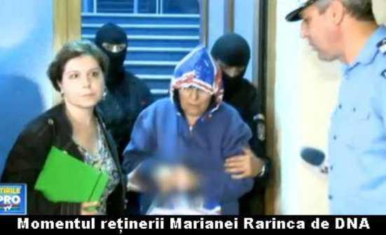 "Scandalosul caz al unei arestari abuzive, urmata de achitare: MARIANA RARINCA versus judecatoarea LIVIA STANCIU. Cum arata ""JUSTITIA"" parteneriatului DNA-ICCJ: AREST PREVENTIV prelungit si nejustificat in urma unui ordin-denunt, AGENTI PROVOCATORI, INTERCEPTARI TELEFONICE pentru o FAPTA INEXISTENTA. Traiasca MCV-ul!"
