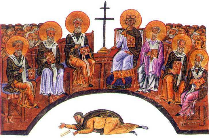 IMPREUNA PE CALEA DREPTEI CINSTIRI. La Duminica Sfintilor Parinti de la Sinodul I Ecumenic. Predica IPS Teofan/ Parintele Cleopa despre CREDINTA FANATICA