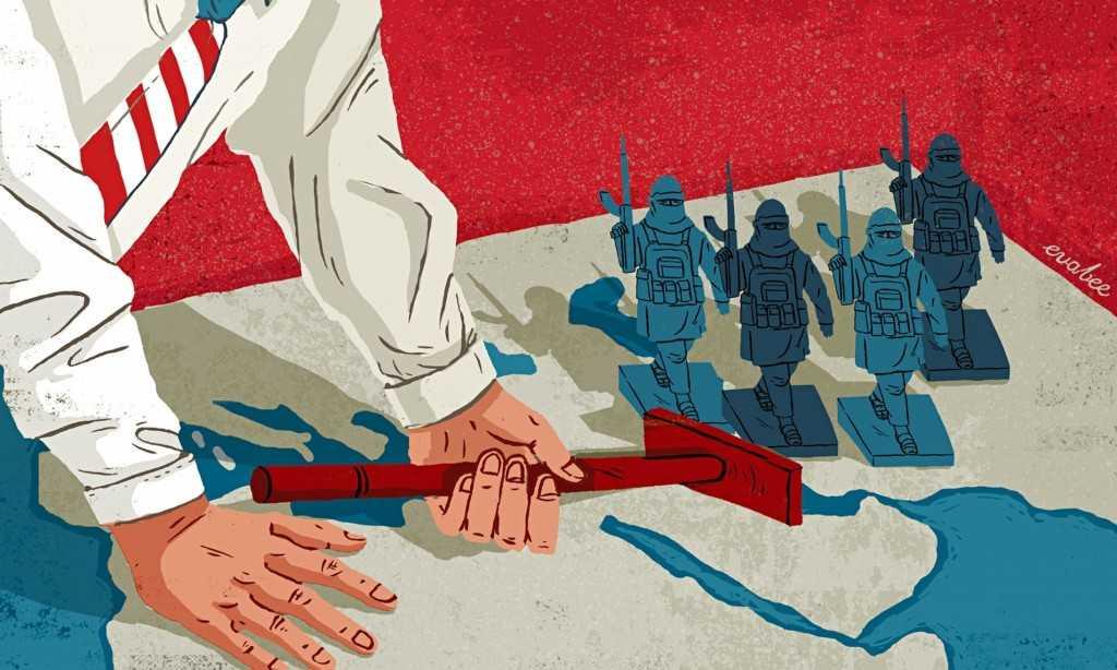 Autorul ilustratiei:  Eva Bee / Sursa: The Guardian (www.theguardian.com/)