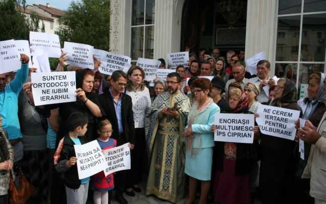 "REACTIA EXCOMUNICATILOR LA EXPLICATIILE IPS CIPRIAN. Dilema unei decizii: se transforma Biserica in ""BOR""?"