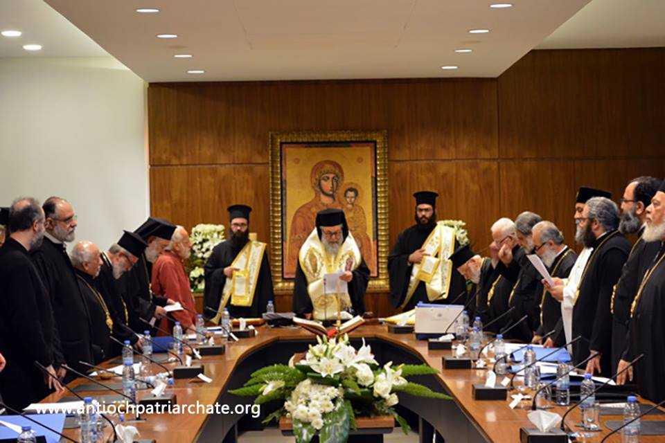 Patriarhia Antiohiei a intrerupt comuniunea cu Patriarhia Ierusalimului