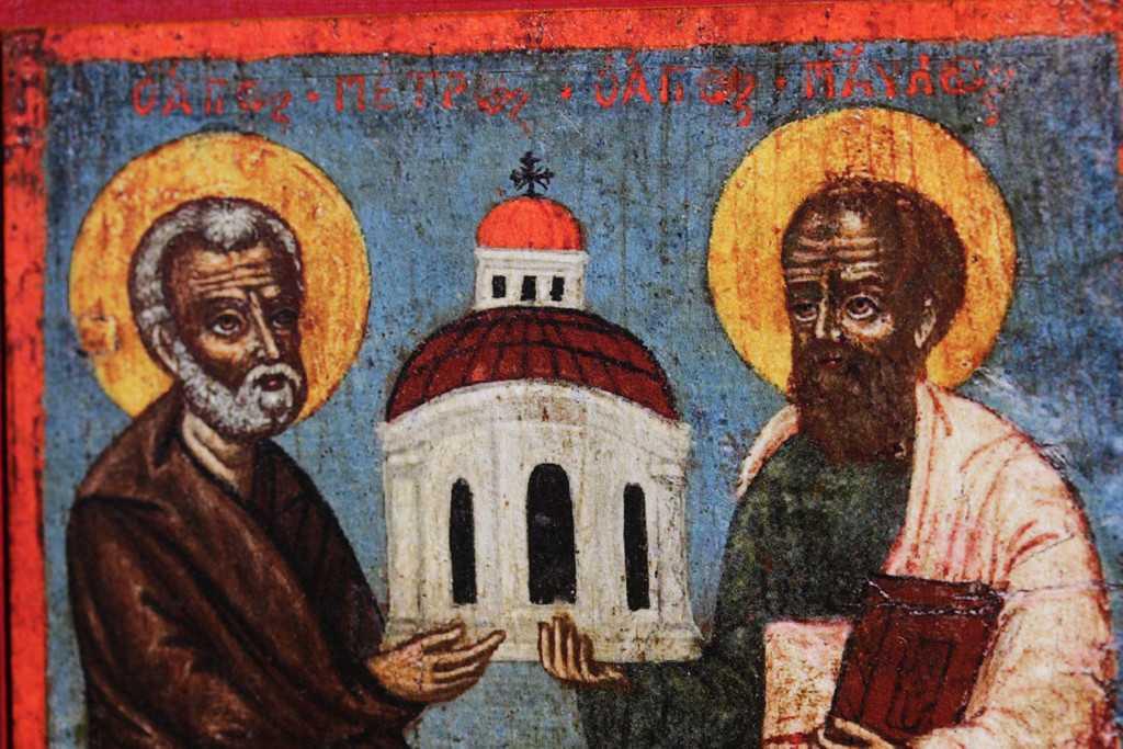 Lectiile Sfintilor Apostoli Petru si Pavel: CHEILE POCAINTEI SI SABIA CUVANTULUI. PIATRA SI VASUL ALES