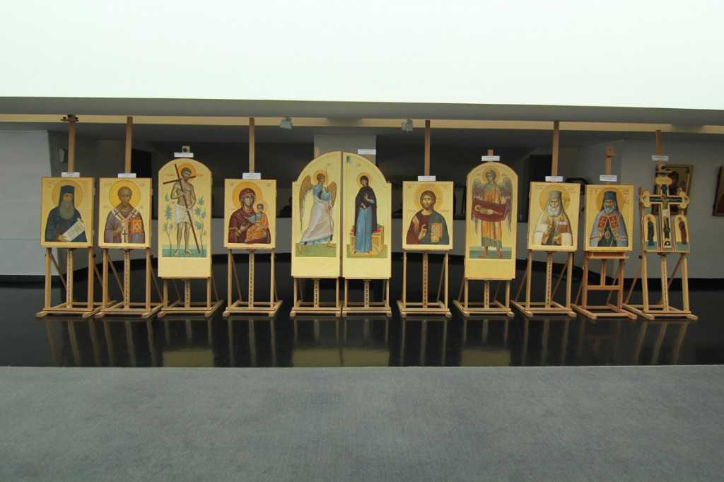 0. icoane iconostas, capela Otopeni, tempera pe lemn, 2015