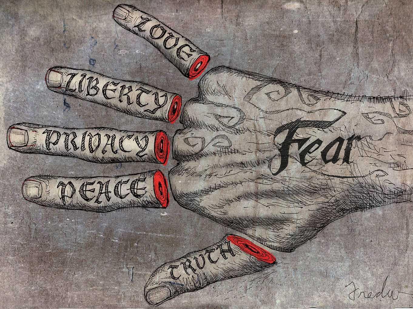 Opinii despre consecintele atentatelor teroriste. IN FAȚA LEVIATHANULUI MONDIAL/ Era suspendarii drepturilor si libertatilor/ STRATEGIA HAOSULUI BINE CONTROLAT/ Decivilizarea si nihilismul apocaliptic