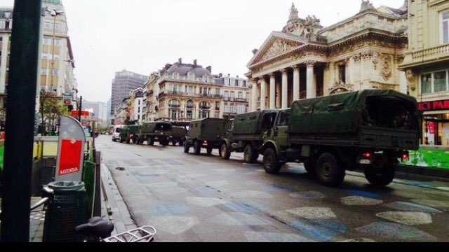 ALERTA TERORISTA DE NIVEL MAXIM LA BRUXELLES. Intra toata Europa in stare de urgenta?
