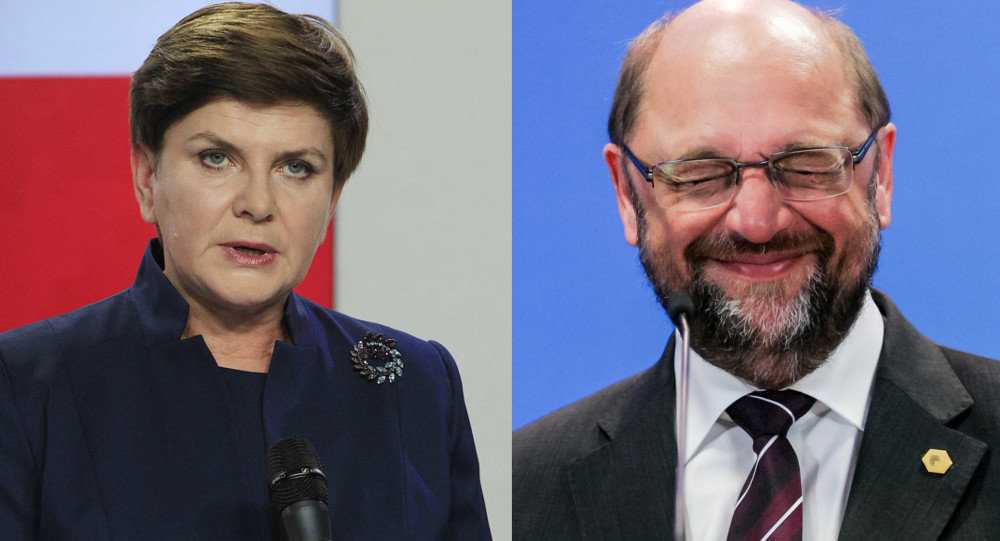 POLONIA, O NATIUNE DEMNA FATA CU DIKTATUL EUROPEAN: <i>&#8220;Cine vrea să își păstreze atributele statalității, este imediat diabolizat de Sistem. Pentru că MARELE PLAN GLOBALIST NU SUPORTA ABATERI DE LA PROGRAM&#8221;</i>. Martin Schulz acuza noul guvern conservator polonez de&#8230; LOVITURA DE STAT din cauza unor schimbari pro-nationale in structurile cheie