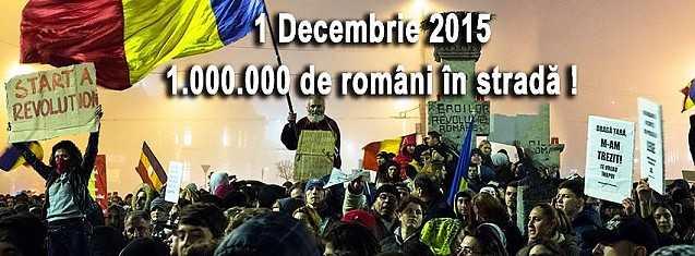 Imagine de pe o pagina de fb care promoveaza protestele pe 1 decembrie