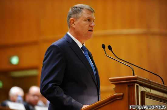klaus-iohannis-se-adreseaza-miercuri-parlamentului-349318