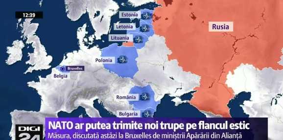"""NATO discuta trimiterea de TRUPE si ARMAMENT in Estul Europei (Video)/ MOSCOVA acuza Romania si alte tari de agitarea """"isteriei"""" amenintarii ruse/ CHOMSKY: NEBUNIA COLECTIVA SI PERICOLUL UNUI RAZBOI NUCLEAR/ Un think-tank american a mai gasit o tema de propaganda putinista: ROMANIA MARE/ Asedierea ALEPULUI sau """"mama tuturor bataliilor"""""""