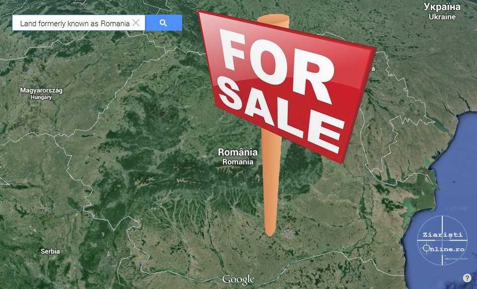 Romania-vanduta