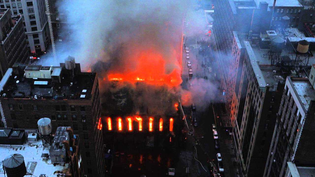 CATEDRALA ORTODOXA SFANTUL SAVA din New York, distrusa de INCENDIU (Video)