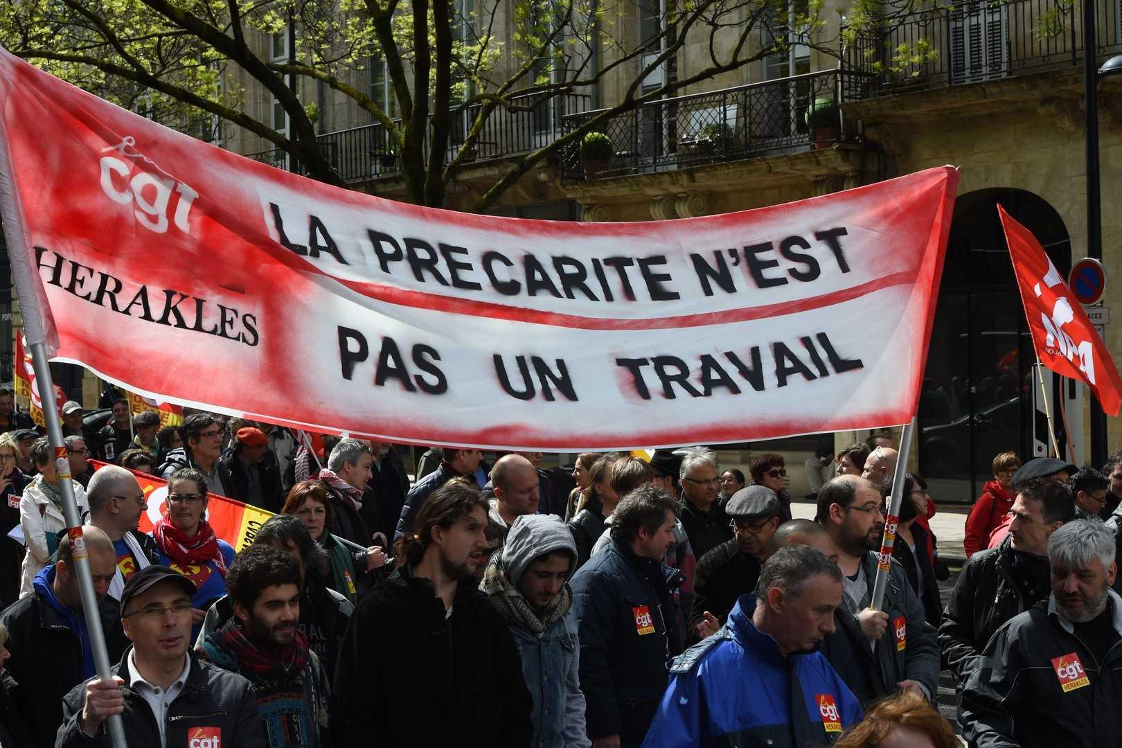 PROTESTE SI REPRESIUNI VIOLENTE IN PARIS DIN CAUZA LEGII MUNCII (Video)