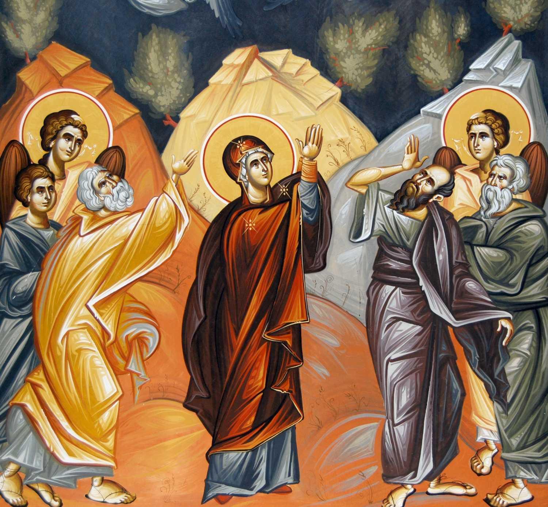 Predica (VIDEO) PS Ignatie Mureseanul la <b>Inaltarea Domnului</b>: PRIVESTE CERUL! PRIVESTE LA HRISTOS!