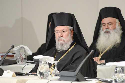 Arhiepiscopul Hrisostom al Ciprului eticheteaza CRITICII documentelor discutate la Sinodul Panortodox: FUNDAMENTALISTI, FANATICI